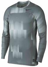 Nike Pro Combat Hyper Warm Vapor Max Graphic Training shirt football hockey men