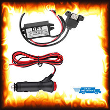 Quick Fast Charge Charger Female USB 12v To 5v DC 3A Phone Sony Tablet Car Bike