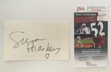 Susan Strasberg Signed Autographed 3x5 Card JSA Certified Actor