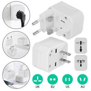 Universal Travel Converter Adapter Wall Charger International EU/US/AU/UK Plug