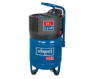 Scheppach HC24V 24ltr Oil Free Vertical Air Compressor | 2hp - 230v