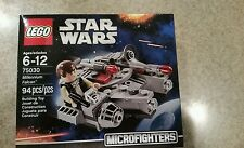 LEGO Star Wars Microfighters Millennium Falcon & Han Solo 75030 Series 1 NEW!!!