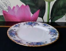 "ROYAL ALBERT ENTREE PLATE ""MOONLIGHT ROSE"" 1ST QUALITY C1987"
