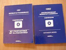 Werkstatthandbuch Ergänzung Plymouth Voyager Diesel 2.5L  1992