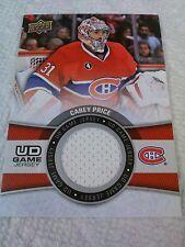 Carey Price 2015-16 Upper Deck Game Jersey Canadiens
