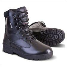 Kombat Patrol Boot - Full Leather - Black