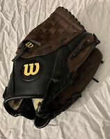 Wilson A2452 11 1/2 inch Youth Baseball Glove Genuine Leather RHT