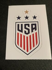 """US Womens Soccer Logo World Cup Decal Sticker 2"""" x 4"""" USWNT 2019 Fifa"""