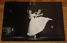MARGOT FONTEYN RUDOLF NUREYEV NEWSPAPER PRESS PHOTO PHOTOGRAPH 7 WITH STAMPS