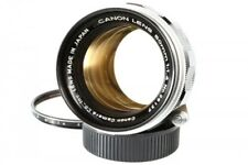Canon 50mm F1.4 Lens w/Filter *Exc+++* Leica Screw Mount LTM L39 from Japan