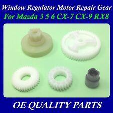 Set of 5pcs Window Regulator Motor Repair Gear for Mazda 3 5 6 CX7 CX9 RX8