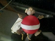 Charming Tails Spring Into The Season Christmas Mouse Ornament Bobble Head Mice