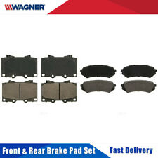 Front+Rear Wagner Ceramic Disc Brake Pads Set For TOYOTA LAND CRUISER 2003-2005
