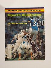 Sports Illustrated 1971 Baltimore Colts win Super Bowl V