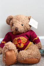 Russ Berrie Canterbury Bear from Past Turkey Thanksgiving Sweater Plush Teddy
