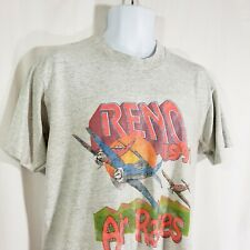 Reno Air Races 1991 Men's L Vintage Graphic T-shirt Single Stitch Screen Stars