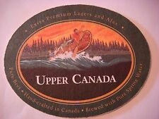 Beer Coaster <> UPPER CANADA Brewing Co ~ Toronto, CANADA ** Open From 1985-1998