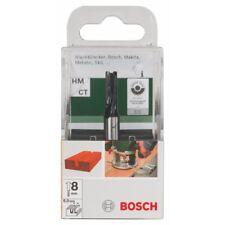 Bosch POF1200 POF1400 STRAIGHT ROUTER BIT 8mm Shank 2609256612 3165140381437