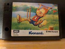 WANPAKU ATHLETIC LAND  - MSX Cartridge Only