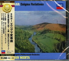 MEHTA (CON), BLISS (CON)-ELGAR: ENIGMA VARIATIONS, POMP AND...-JAPAN CD C15