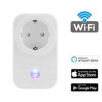 WIFI Smart Socket Phone Remote Control Outlet Compatible with Alexa Echo EU Plug