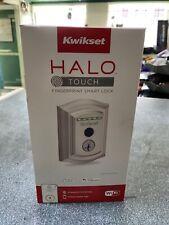 Kwikset Halo Touch Traditional Wi-Fi Fingerprint Smart Lock Satin Nickel