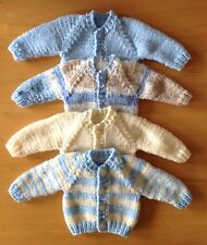 """Dolls Clothes Hand Knitted For 12-14"""" 30-36 cm Boy Doll.  Choice Of Colour."""