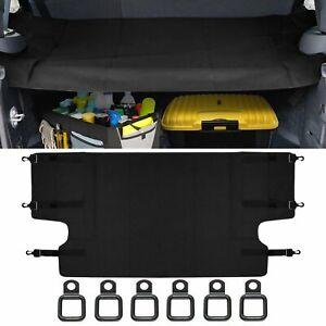 Cargo Cover Rear Trunk Cargo Security Shield Cover For Jeep Wrangler JK 07-2018