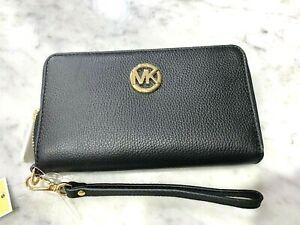 Michael Kors Fulton LG Flat Multifunction Phone Case Wallet Wristlet DEAL 4 YOU!