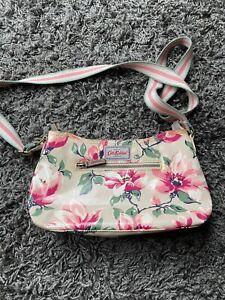 Cath Kidston Cream Small Floral Patterned Shoulder Bag Handbag