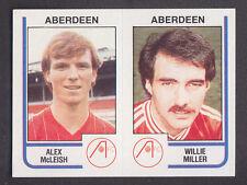 Panini - Football 84 - # 440 McLeish / Miller - Aberdeen