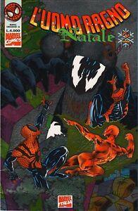 L'UOMO RAGNO NATALE n°2 copertina prismatica (1995) - Marvel Italia