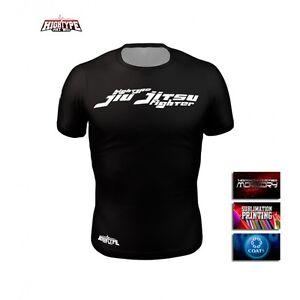 HighType Jiu Jitsu Fighter Light Rash Guard MMA BJJ Fightwear Compression