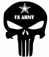 PUNISHER Car Truck Window Vinyl Decal Sticker grunt recon  Army Navy Marines