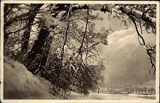Schwarzwald s/w Feldpostkarte 1915 gelaufen Winterlandschaft von Joh. Elchlepp