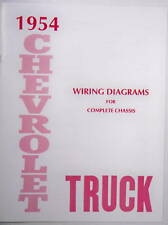 1954 Chevy truck Wiring Diagram manual