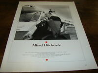 ALFRED HITCHCOCK - MINI POSTER N&B N°3 !!!!!!!!!!!!!!!!