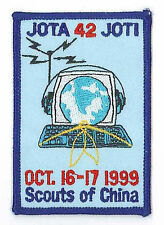 1999 SCOUTS OF CHINA (TAIWAN) - Jamboree On the Air & Internet JOTA Scout Patch