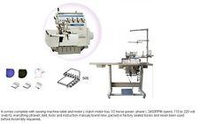 Yamata FY2100-3 Thread Hi speed Overlock Industrial Serger,servo,table MO-6704S