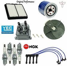 Tune Up Kit Filter Cap Rotor Spark Plugs Wire for Honda Civic del Sol VTEC 94-97
