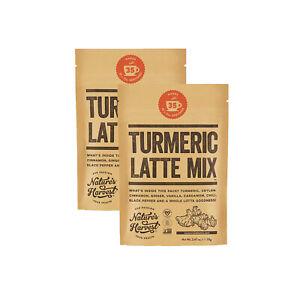 TWIN PACK Premium Organic Turmeric Latte Mix X2 70G Pkts