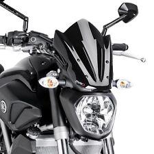 Cockpitscheibe Puig Sport Yamaha MT-07 13-17 schwarz Windschutzscheibe