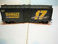 HO Life-Like Black Dewalt Racing Box Car #17 Used Matt Kenseth