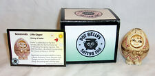 2001 Harmony Ball Pot Bellys Seasonals Little Dipper Easter Egg Kid Trinket Box
