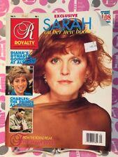 Royalty Magazine Vol 11 No 1 October 1991 SARAH FERGUSON, PRINCESS DIANA