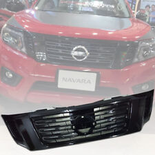 GLOSS BLACK FRONT GRILLE GRILL FOR NISSAN FRONTIER NAVARA NP300 2014 15 - 2018