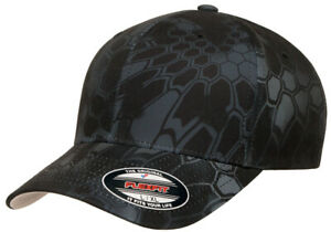 Flexfit® Kryptek® Cap Curved Visor 6 Panels 6277KR Baseball Cap Flex Fit Hats