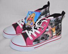 Hannah Montana girls shoes size 13 Pink Black white Dream pop star New