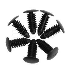 20Pcs Plastic Rivets Fasteners 7mm Dia Hole Black for Car Auto Bumper Fender