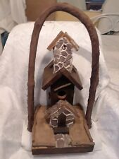 Handcrafted Wood Bird House